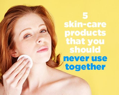 5 Skin-Care Products That You Should Never Use Together