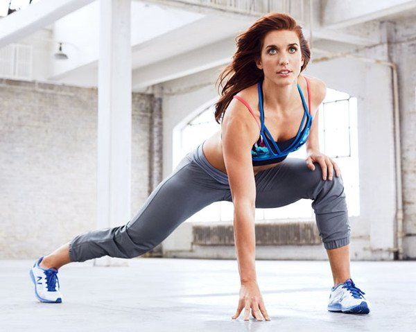 Next Fitness Star Emily Schromm Loves This Lunge Variation