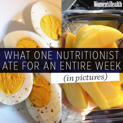 What One Nutritionist Ate for an Entire Week (in Pictures)