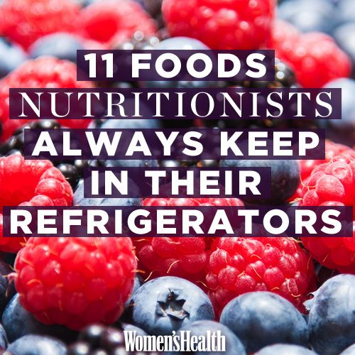 11 Foods Nutritionists Always Keep in their Refrigerators