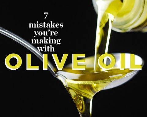 7 Mistakes You're Making with Olive Oil