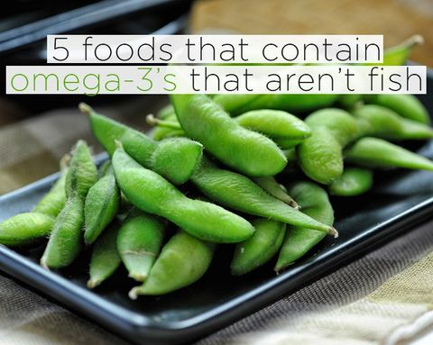 5 Foods That Contain Omega-3's That AREN'T Fish