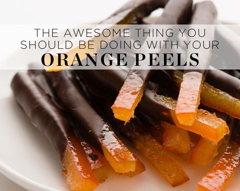 The Awesome Thing You Should be Doing with Your Orange Peels