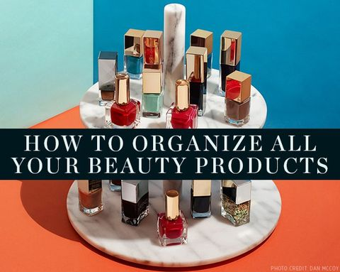 6 Ways to Organize All of Your Beauty Products