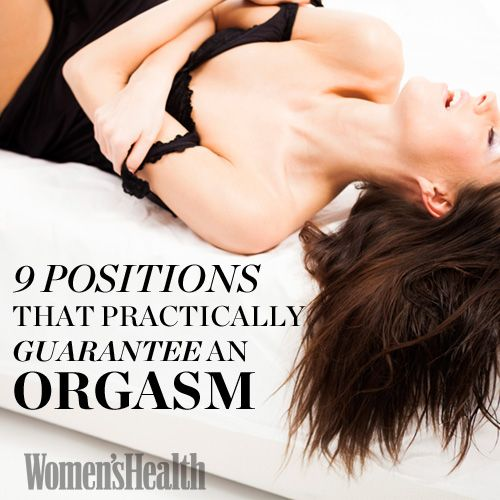 The 9 Best Sex Positions That Practically Guarantee an Orgasm