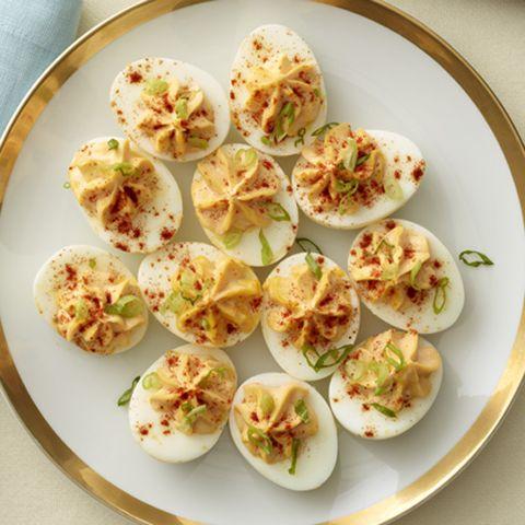 Gingered Deviled Eggs