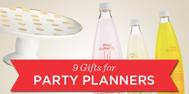 9 gifts for party planners