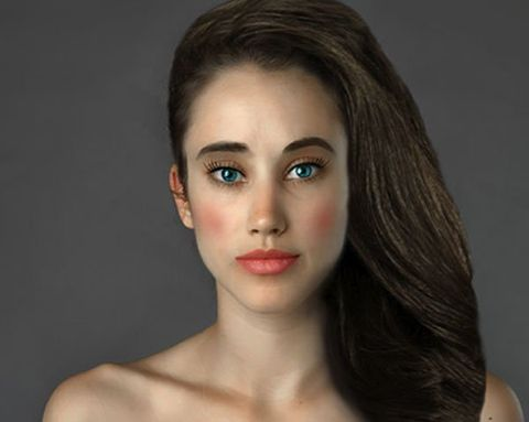 This Woman Had Her Picture Photoshopped by Dozens of Experts to be 'Beautiful'—and the Results Are Fascinating