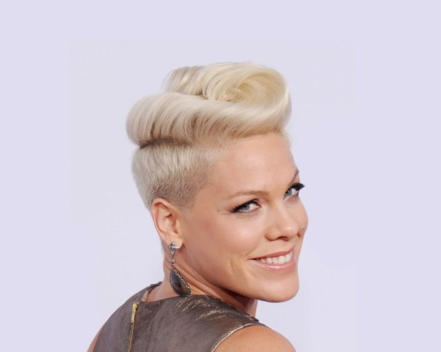 How To Get Pink S Rock Star Hair