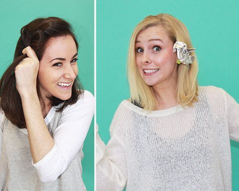 This Is What Happens When 5 Different Women Try the Same 'Easy' Hairstyles from Pinterest