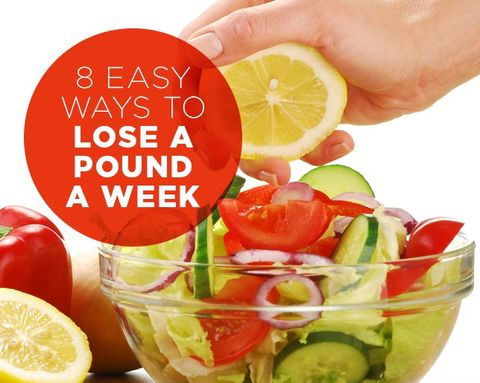 8 Easy Ways to Lose a Pound a Week