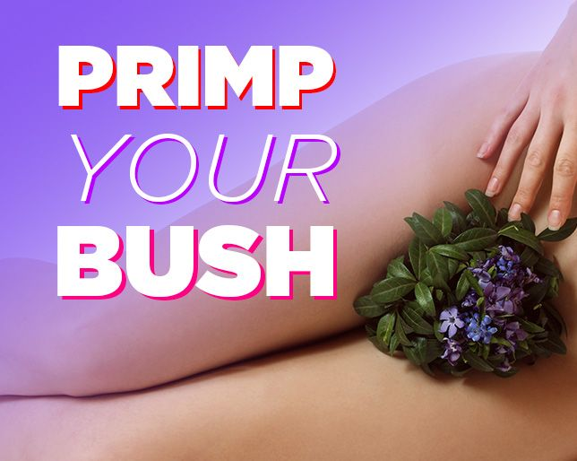 4 Fun Ways To Style Your Pubic Hair