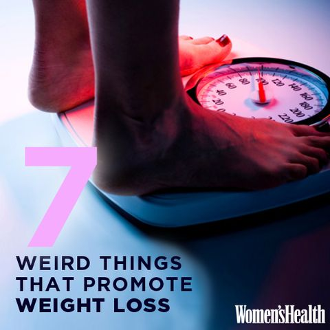 7 Weird Things That Promote Weight Loss