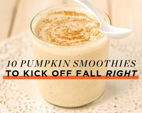 10 Pumpkin Smoothies to Kick Off Fall RIGHT