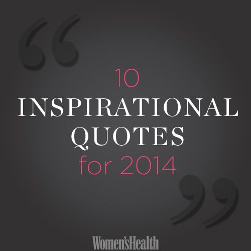 10 Inspirational Quotes for 2014