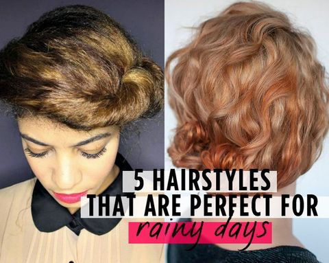 5 Hairstyles That Are Perfect for Rainy Days