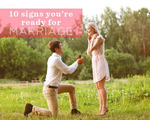 10 Signs You're Ready For Marriage