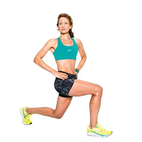 Reverse Lunge with Rotation