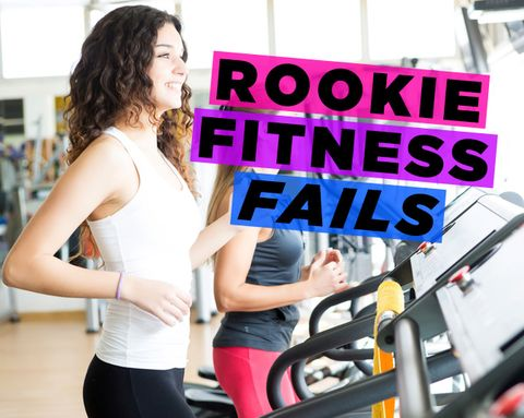 9 Rookie Mistakes You Can't Believe You Used to Make at the Gym