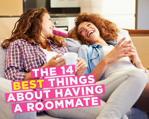 The 14 BEST Things About Having a Roommate