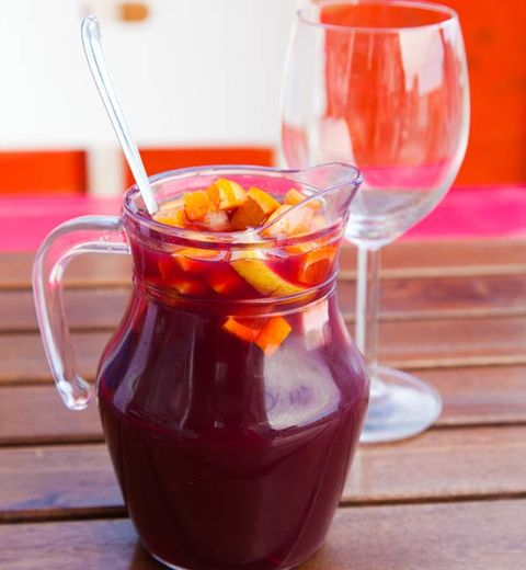 The Healthiest Summer Sangria EVER