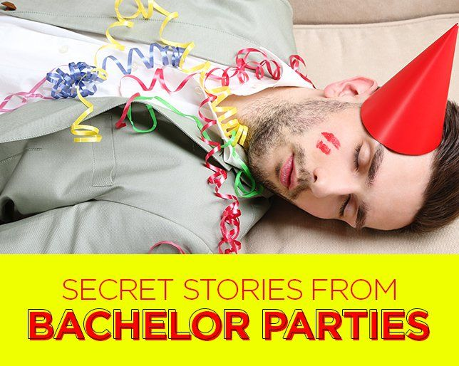 Bachelor party wife stories