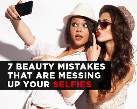 7 Beauty Mistakes That Are Messing Up Your Selfies