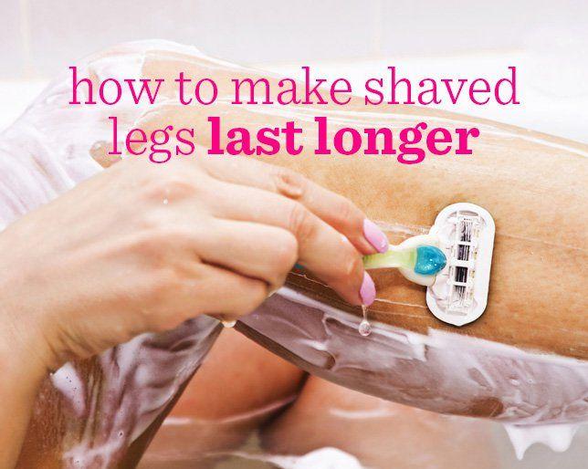 How to Make Shaved Legs Last Longer