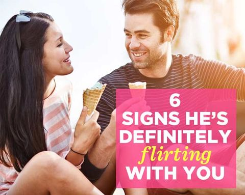 6 Signs He's Definitely Flirting with You
