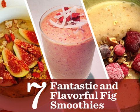 7 Fantastic and Flavorful Fig Smoothies