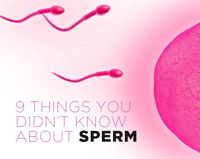 Eating sperm medicinal facts