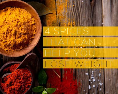 4 Spices That Can Help You Lose Weight