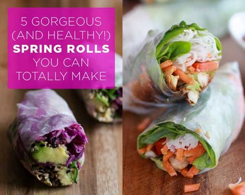 5 Gorgeous (and Healthy!) Spring Rolls You Can Totally Make