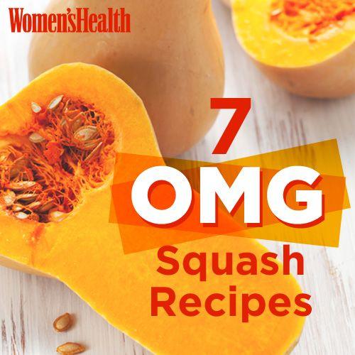7 OMG Squash Recipes