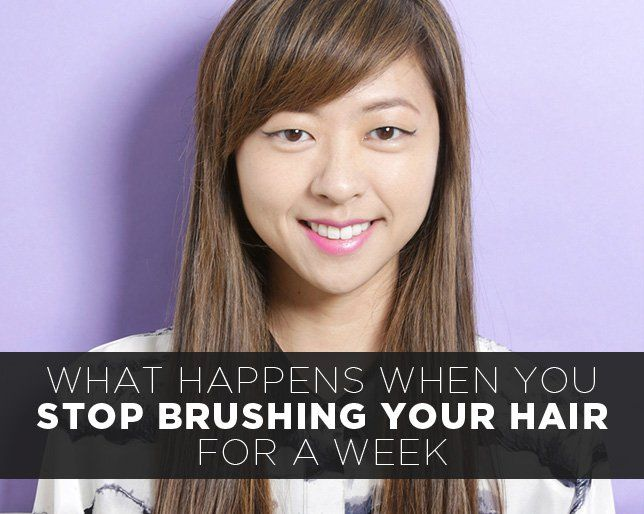 What Happens When You Stop Brushing Your Hair for a Week