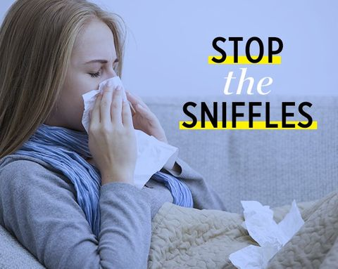 Is There Anything You Can Do to Stop a Cold Before It Starts?