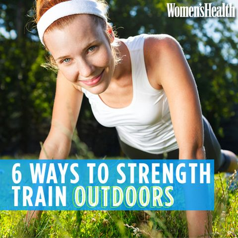 6 Ways to Strength Train Outdoors