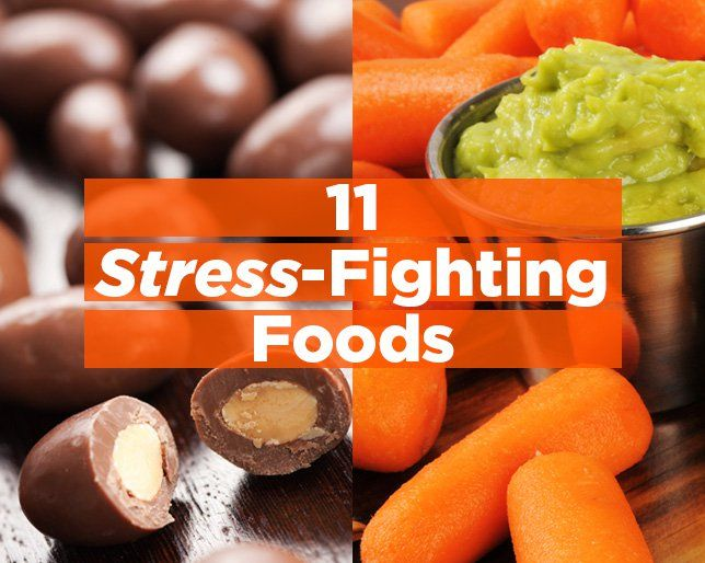 The 11 BEST Foods to Eat When You're Stressed Out