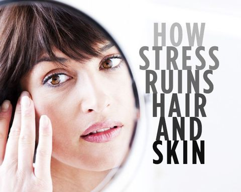 How Stress Can Wreak Havoc on Your Hair and Skin