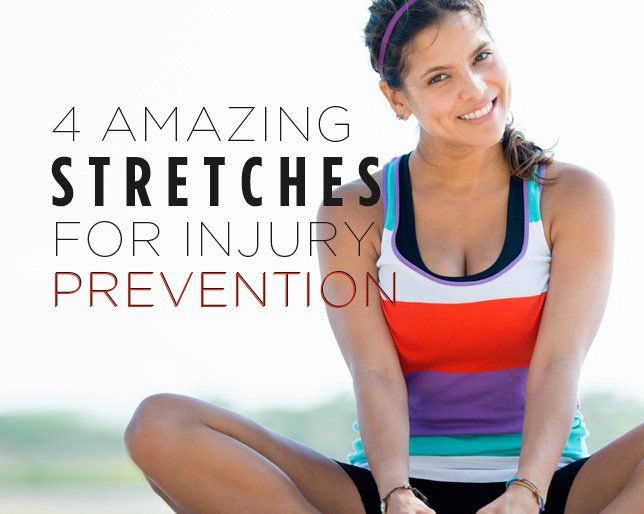 4 Amazing Stretches for Injury Prevention
