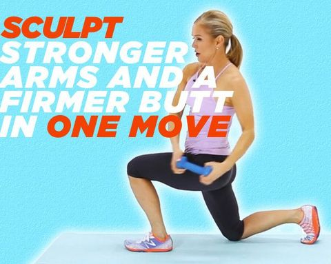 Sculpt Stronger Arms and a Firmer Butt in One Move