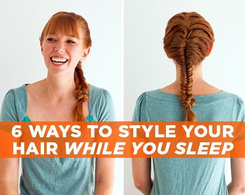 6 Ways To Style Your Hair While You Sleep