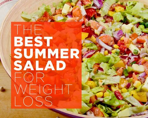 The BEST Summer Salad for Weight Loss