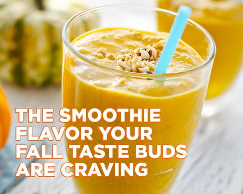 The Smoothie Flavor Your Fall Taste Buds Are Craving