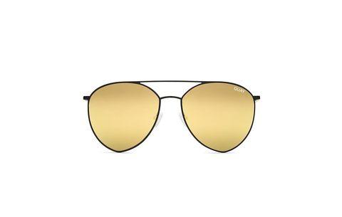 ce58af40186 Best For Angular Faces  Egg-Shaped Lenses. Quay Australia Indio Sunglasses