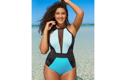 b11743dd79a The Best Swimsuits to Camouflage a Tummy