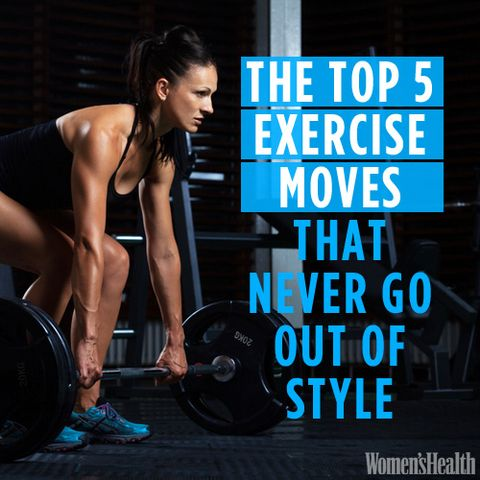 The Top 5 Exercise Moves That Never Go Out of Style