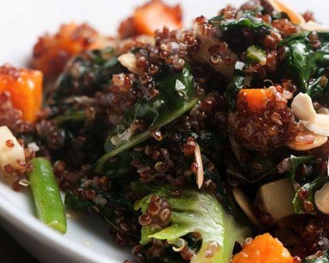 Fuel Your Fitness: Warm Quinoa Salad
