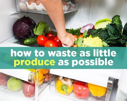 How to Waste as Little Produce as Possible
