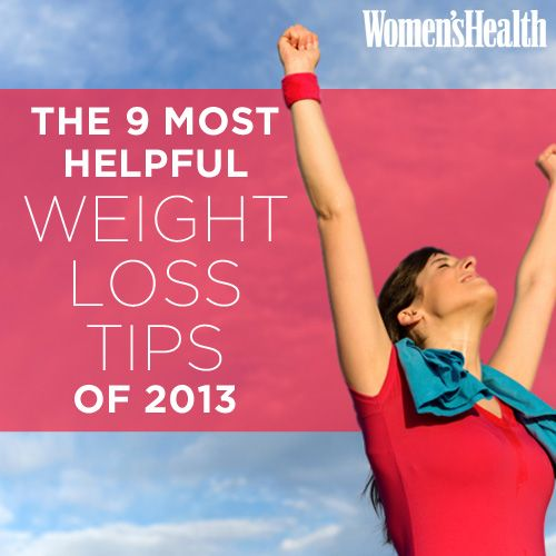 The 9 Most Helpful Weight-Loss Tips of 2013